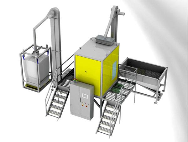 Электростатический сепаратор пластмасс